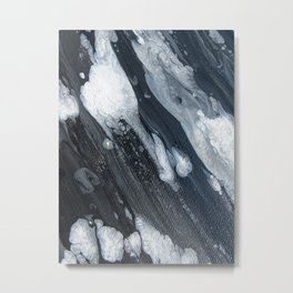 untitled (3189 blck and white) Metal Print