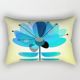Die Blaue Blume Rectangular Pillow