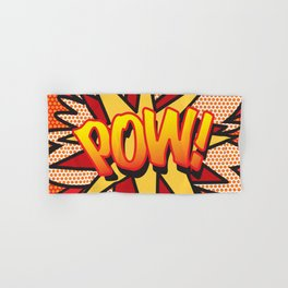 Comic Book POW! Hand & Bath Towel