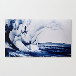 The Whale and the Shadow Canvas Print