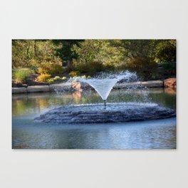 Muscogee (Creek) Nation - Honor Heights Park Azalea Festival, No. 03 of 12 Canvas Print