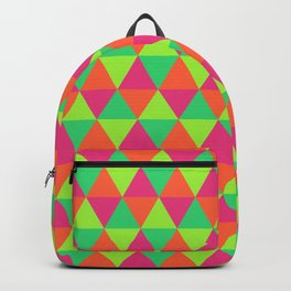 Triangular Pattern Backpack