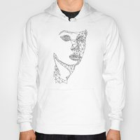 no face Hoodies featuring face by gazonula