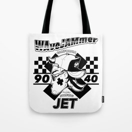 WAVEWAMMER SURFING COMPANY / JET LEGEND BLACK Tote Bag