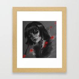 Lady Noir Framed Art Print