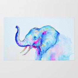 Bubblegum Elephant Rug