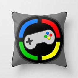 Video Gamer 4 Life Throw Pillow