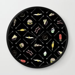Gluttonous Wall Clock