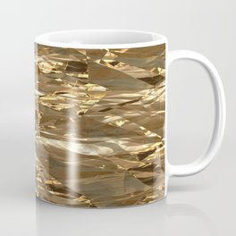Gold Metal Coffee Mug
