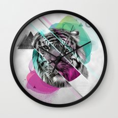 Le tigre Wall Clock