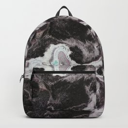 Within the Void - Gothic Inkblot Graphic Backpack