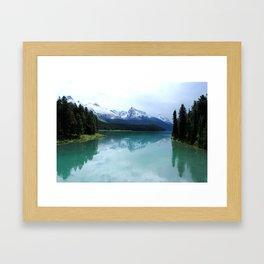 The Spirit of Maligne Lake Framed Art Print