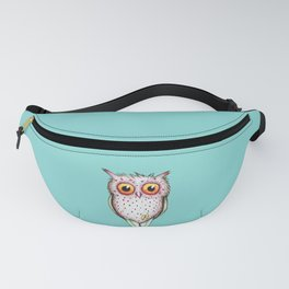 Cute colored owl Fanny Pack