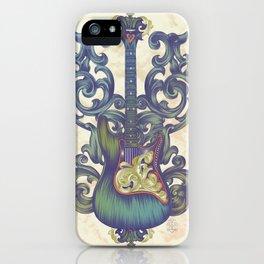 Angel Guitar iPhone Case