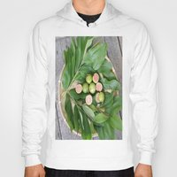 fruits Hoodies featuring FRUITS & LEAVES by Annie Koh