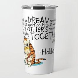 Calvin and Hobbes Dreams Travel Mug