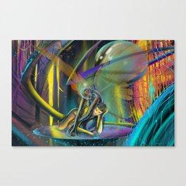 Avatars (Full Print) Canvas Print