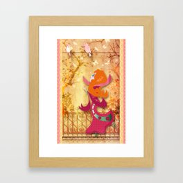 Flore Framed Art Print