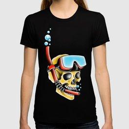 Snorkeling Skull T-shirt