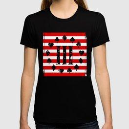 Three Percenter Aces USA Flag T-shirt