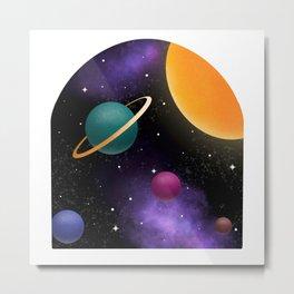 Window to Space Metal Print