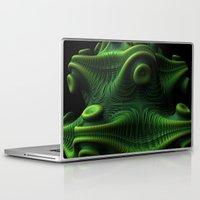 beastie boys Laptop & iPad Skins featuring Beastie by Lyle Hatch