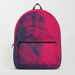 Shattered Purple Backpack