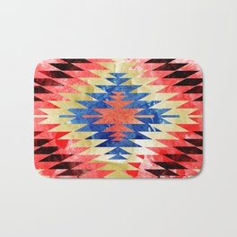 Painted Navajo Suns Bath Mat