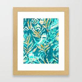 SHARK BITE Framed Art Print