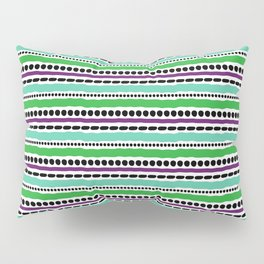 Lines and Dots 5 Pillow Sham