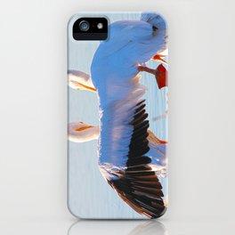 Pelican Wooing II aka Best Friends iPhone Case