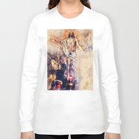 christ Long Sleeve T-shirts featuring  Jesus Christ by jbjart