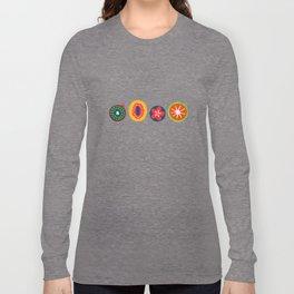 Bright Fruit Long Sleeve T-shirt