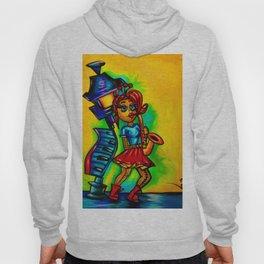 Voodoo doll saxophone player Hoody