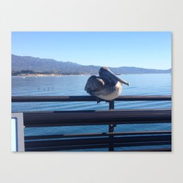 Sittin' By The Dock of the Bay Canvas Print