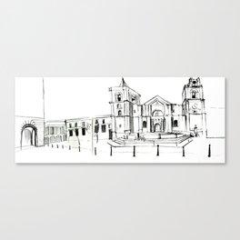 Cathedral, Malta Canvas Print