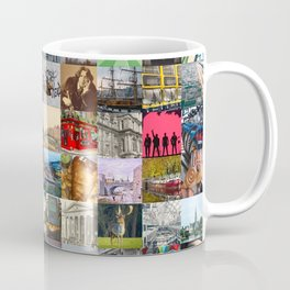 Everything from Dublin - collage of typical images of the city and history Coffee Mug