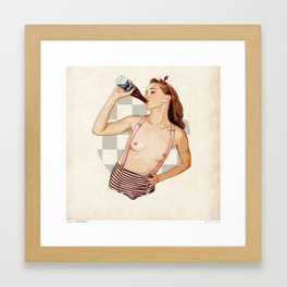 Miss Mississippi Framed Art Print