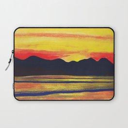 Salish Sea Sunset Laptop Sleeve