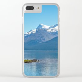 Morning at Lake Maligne Clear iPhone Case