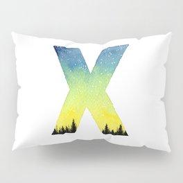 Galaxy Alphabet Series: X Pillow Sham