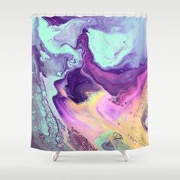 Liquid Pastels Shower Curtain