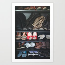 OMG, Shoes. Art Print