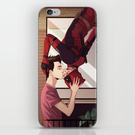 Spider-kiss iPhone Skin