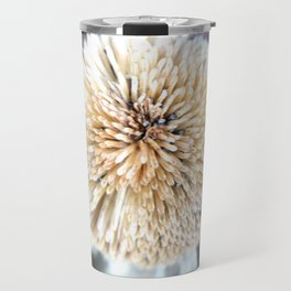 Flower | Flowers | Seed Pod Sphere | Nadia Bonello Travel Mug