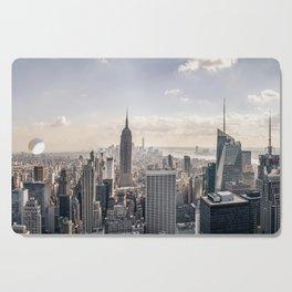 NYC Skyline Cutting Board