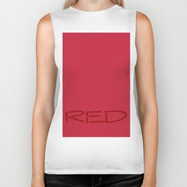 Red Biker Tank