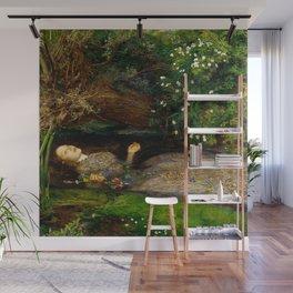 "John Everett Millais ""Ophelia"" Wall Mural"