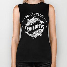 Master Fisherman Biker Tank