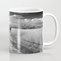 bridge Mugs featuring Bridge by Guido Montañés